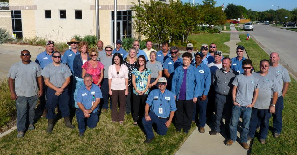 Benbrook Water Authority Staff Group Photo